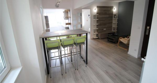 Ultracentral - apartament 2 camere cu terasa - renovat si mo