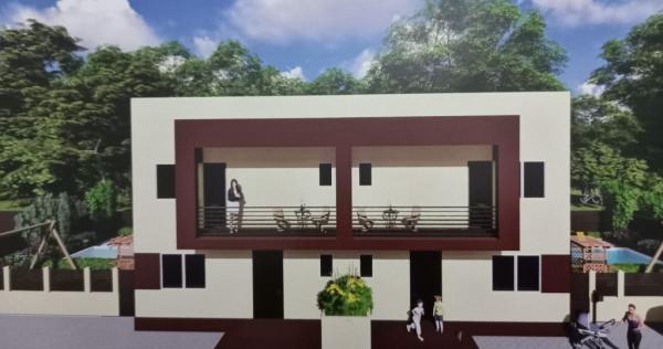 Vila duplex 4 camere Domnesti la numai 500 m de cenura