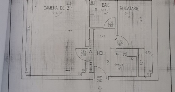 Garsoniera, ( apartament cu o camera) Ultracentral