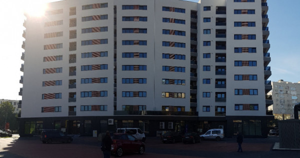 Apartament doua camere, mobilat, loc parcare, bloc nou