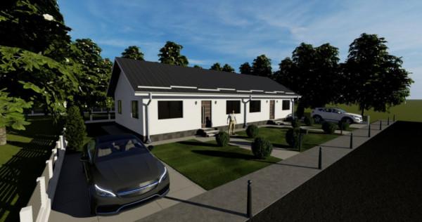 Duplex pe parter cu pod locuibil-3 camere si 250 mp curte-Ma