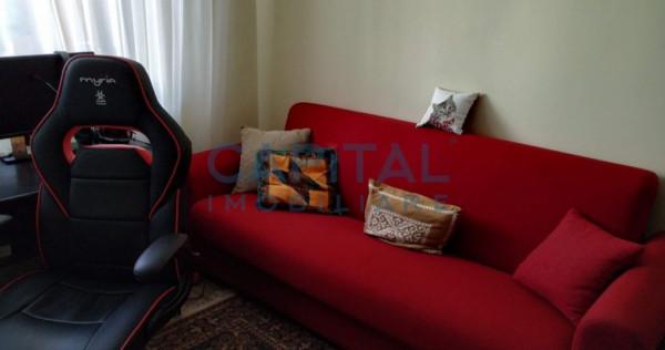 Apartament 3 camere semidecomandat, zona P-ta Flora,Manastur