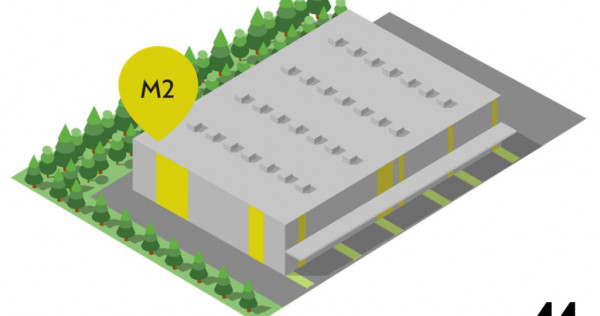 Depozite clasa A, in Brasov. Modulis, 1000 mp