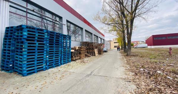Depozit/ hala productie, 630-1520mp, inalt(a), zona Leroy
