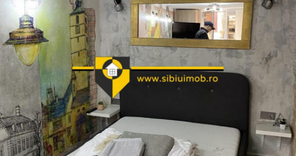Garsoniera ultracentral Movilei 24 mp pentru regim hotelier