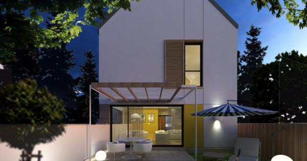 Vila/Casa P+1+P, nouă, Popești Leordeni, central