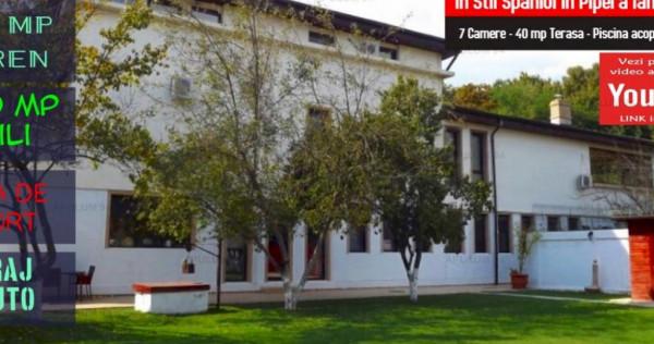 Vila Superba in Stil Spaniol in Pipera langa Padure