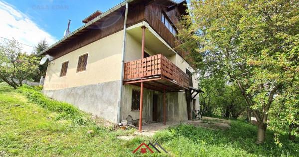 Casa D+P+M in Breaza,5 camere,2 bai,an 1991, teren 1260 mp !