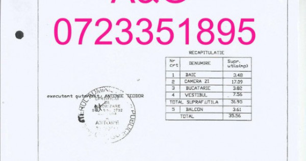 Garsonieră 1 Mai Turda, Sector 1 ID: #1144