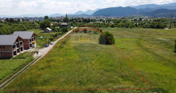 EXCLUSIVITATE! Teren constructii rezidentiale 5525 mp Brasov