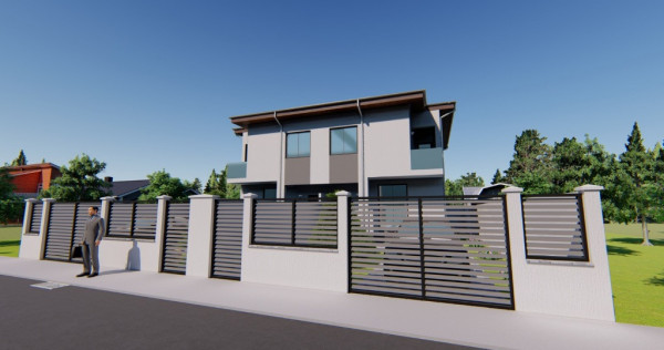 Duplex modern_gradina mare_parcare_Zona Fundeni-Dobroesti
