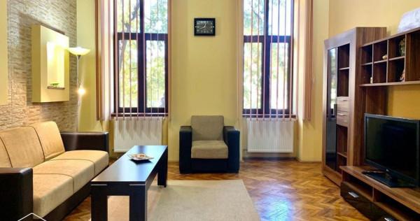 Apartament 2 camere, Ultracentral, decomandat, centrala p...