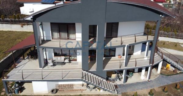 Vila Dambul Rotund mobilata/utilata, exclusiva, cu teren 200