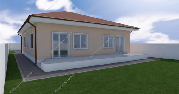 Apartament la duplex, 4 camere in Mosnita Noua