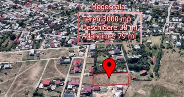 Teren 3000 MP deschidere 38ml cu Toate Utilitatile in Mogoso