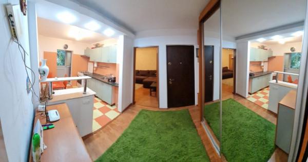 2 Camere, Decomandat, Modern, Metrou, Parc Crangasi
