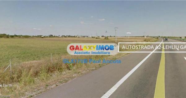 Teren Lahliu Gara Nod Autostrada Soarelui 27300 mp Industri