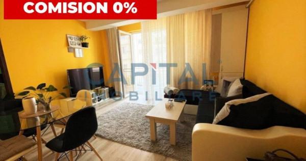 Apartament 2 camere modern, garaj, balcon, comision 0%!