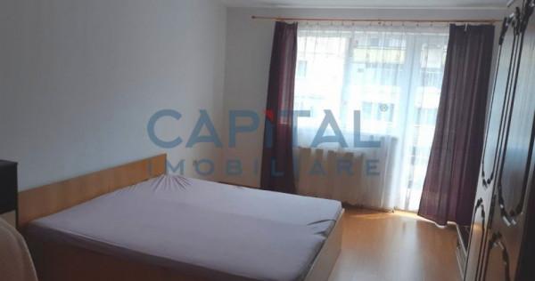 Apartament cu 3 camere, semidecomandat, cartier Marasti