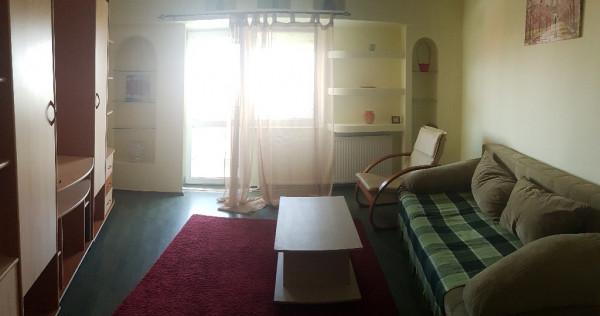 Apartament doua camere, decomandat, mobilat utilat, central