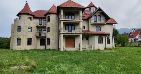 Pensiune/ hotel in Bran, constructie deosebita.