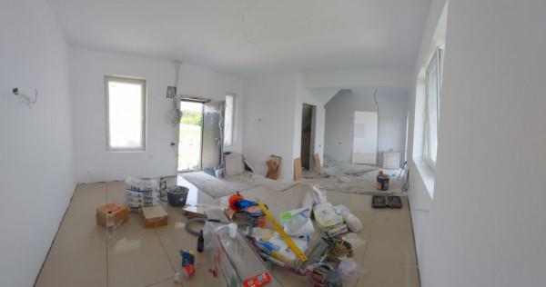 Clinceni-casa insiruita, 4 unitati locative, 4 camere, teren