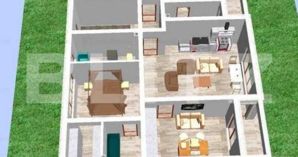 Apartament in vila 3 camere terasa 8mp tractorul comision 0%