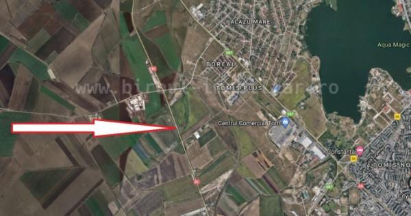 Inchiriere teren 1ha,front stradal 110m varianta Constanta