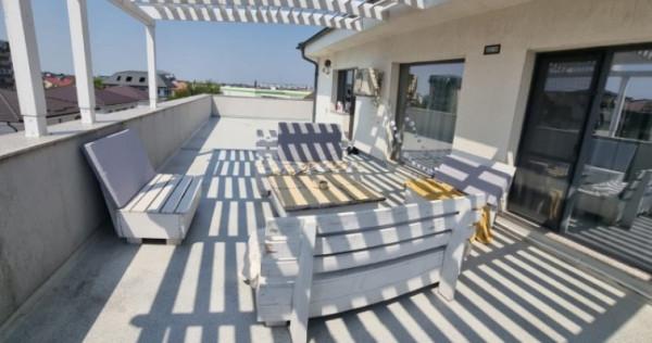 Apartament 3 camere 140mp superb cu terasa 100mp