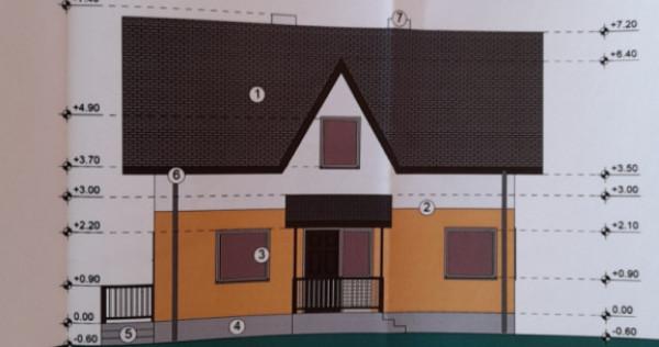 Teren cu proiect și autorizație 400 mp