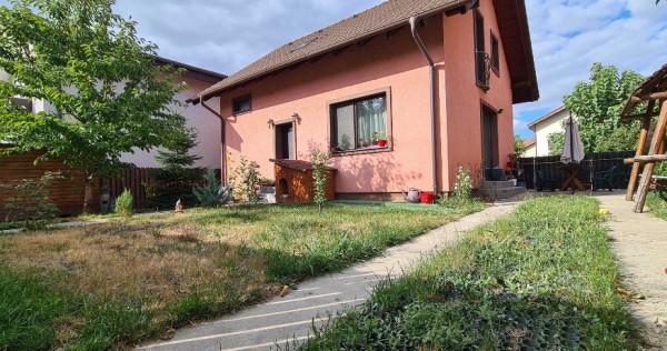 Casa cocheta in Chiajna, strada privata, canalizare, teren 2