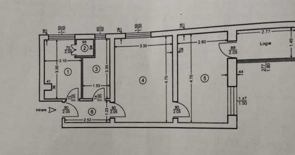 Ultracentral   2 camere   semi-decomandat   liber   disponib