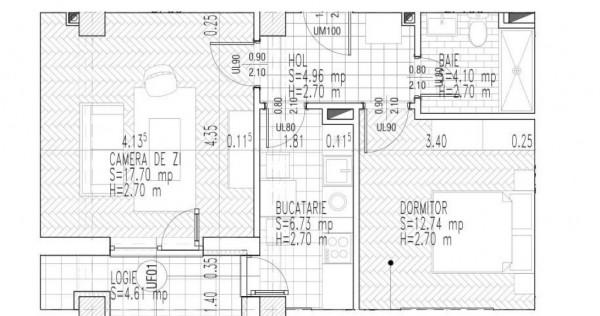 Apartament 2 camere - Titan - Pallady - Metrou Nicolae Teclu