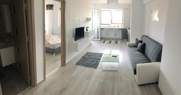 Apartament doua camere mobilat utilat NOU renovat, bloc nou