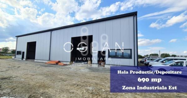 Hala productie/depozitare cu platforma pavata, Zona Industri